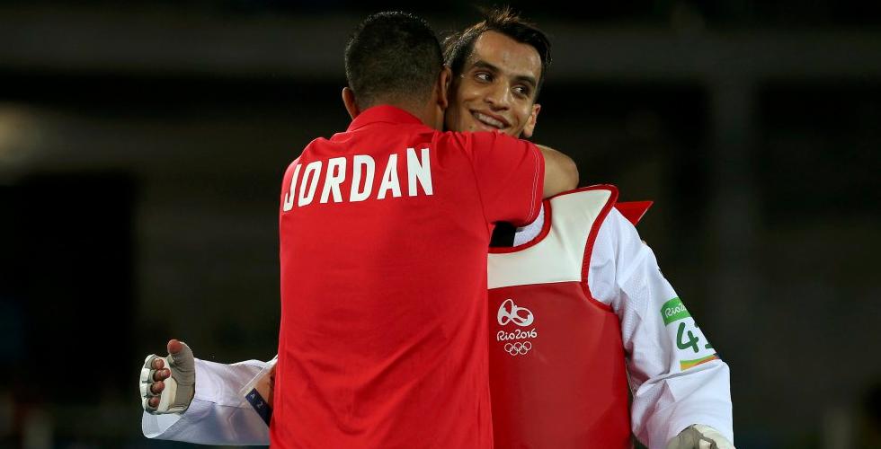 ذهبية للمرة الأولى للأردن