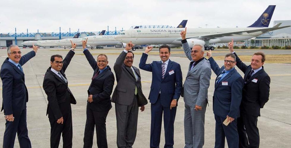 الخطوط الجوية العربية السعودية والطائرة الجديدة