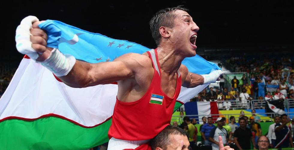 ذهبية الملاكمة الخفيفة لاوزبكستان