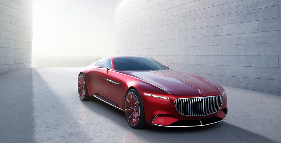 أخيراً: إليكم ال Mercedes-Maybach 6