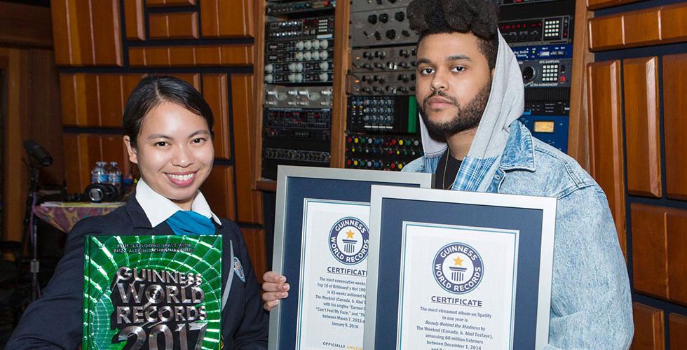 The Weeknd واللقبان الجديدان