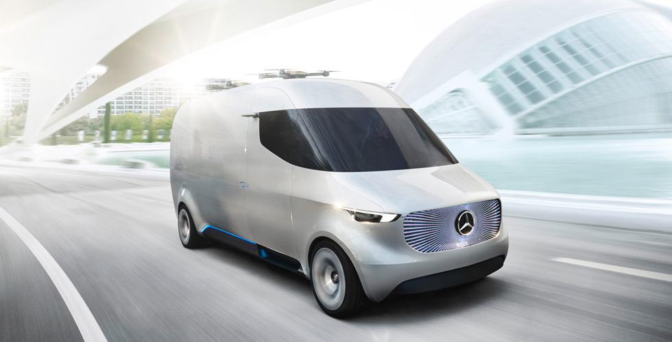 Vision Van  والتوصيل المستقبليّ
