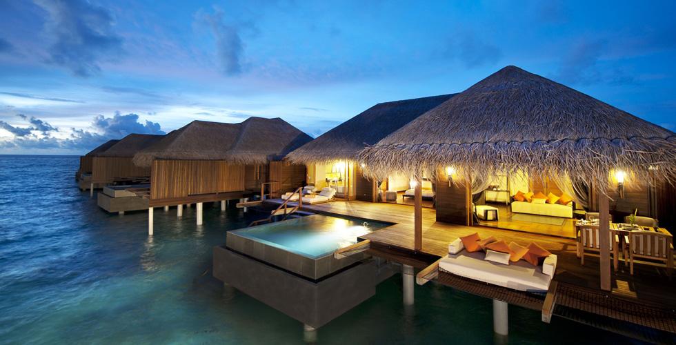 وأخيراً إنتركونتيننتال في المالديف