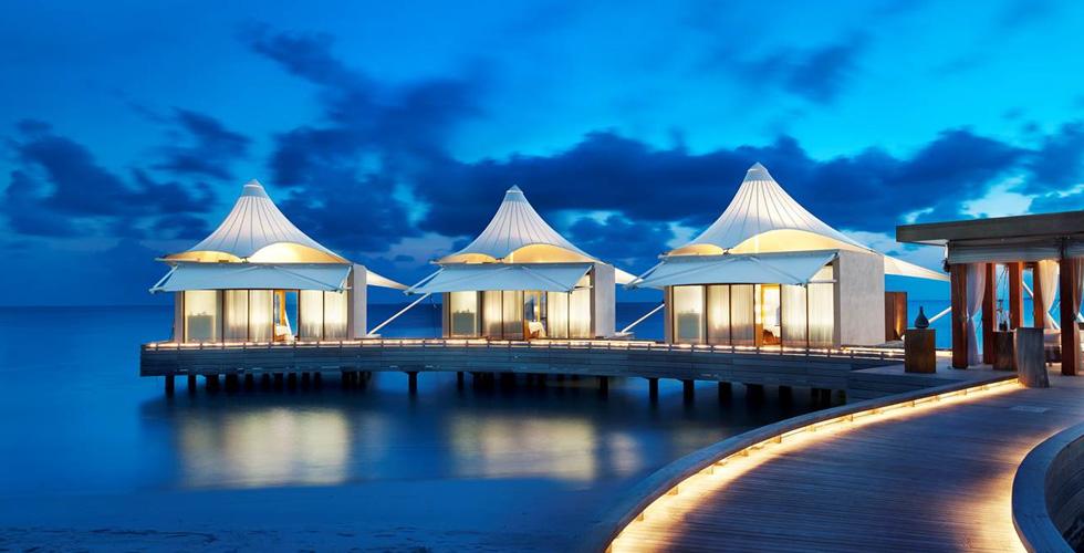 رحلة بنصف مليون دولار في المالديف