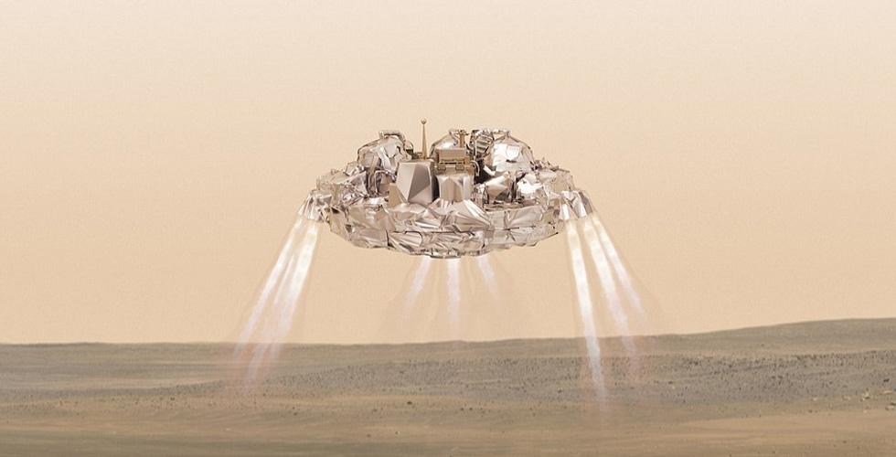 المركبة الاوروبية وصلت الى المريخ ولكن...