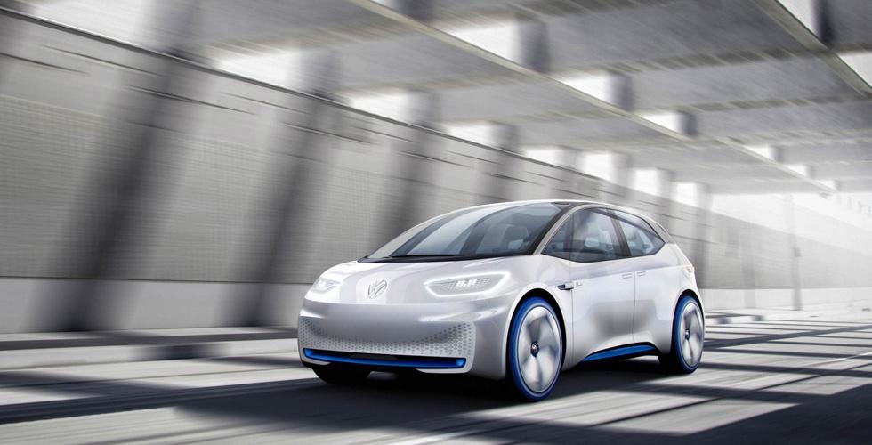صوراً لآليّات Volkswagen الكهربائيّة