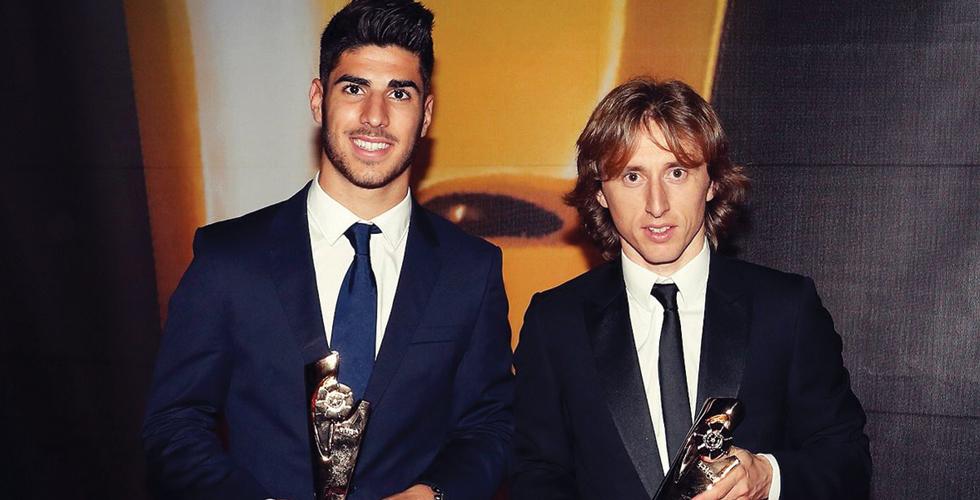 لاعبا مدريد وجائزتا الدوري الاسباني