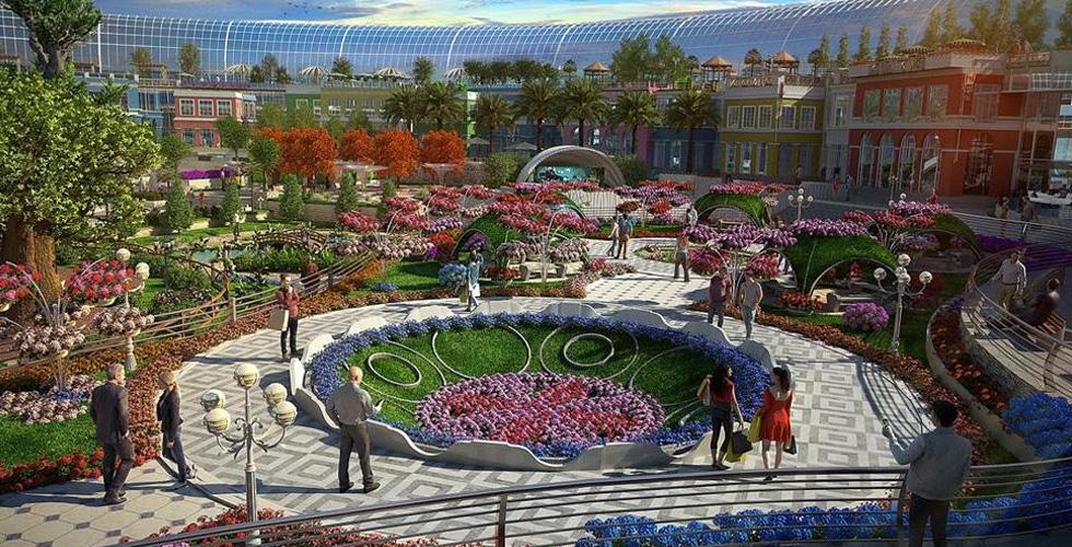 مول مستوحى من الطبيعة في دبي