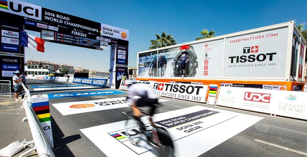 تمديد الشراكة بين Tissot وال-UCI