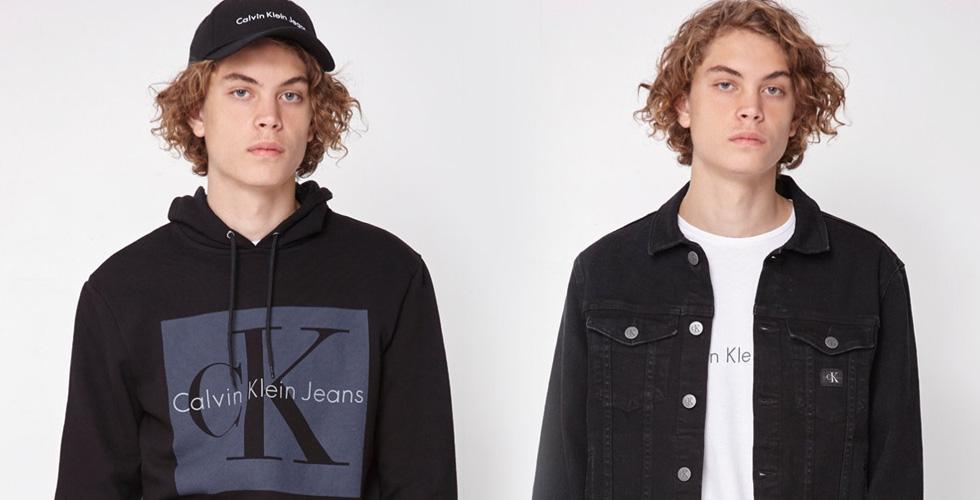 Calvin Klein تحتفل بأساليب التسعينات