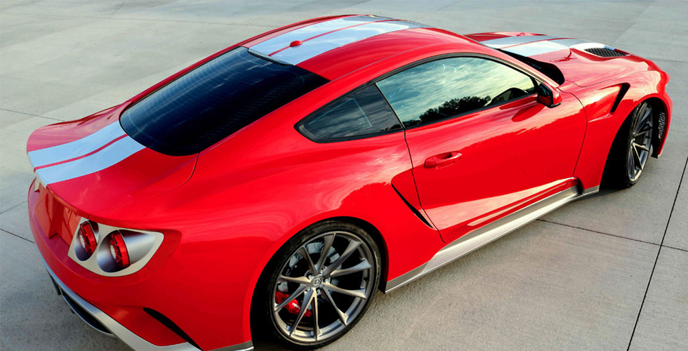 Mustang Ford GT  مقابل 125,000$