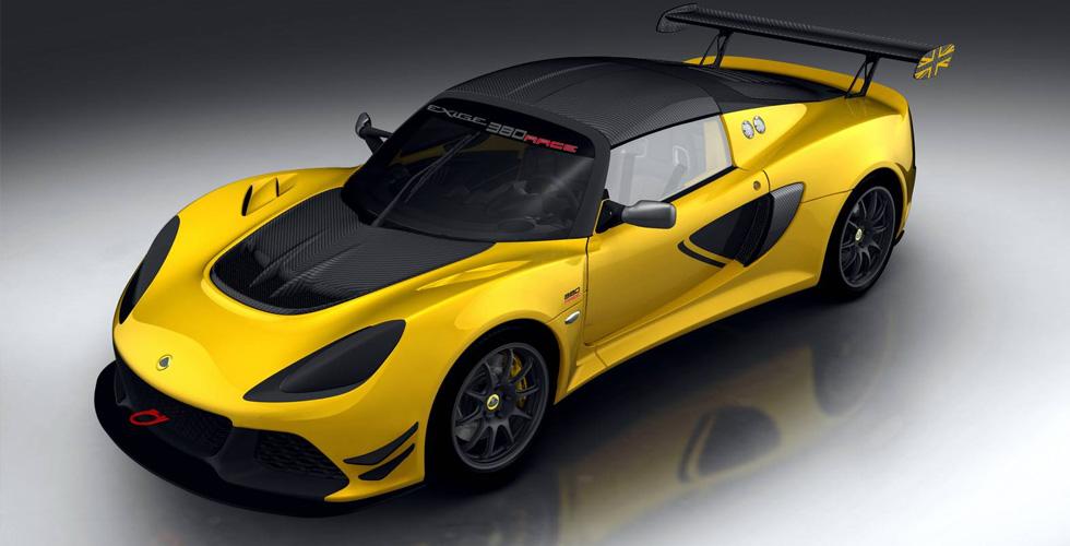 ال Lotus Exige 380  الخاصّة بالمسارات