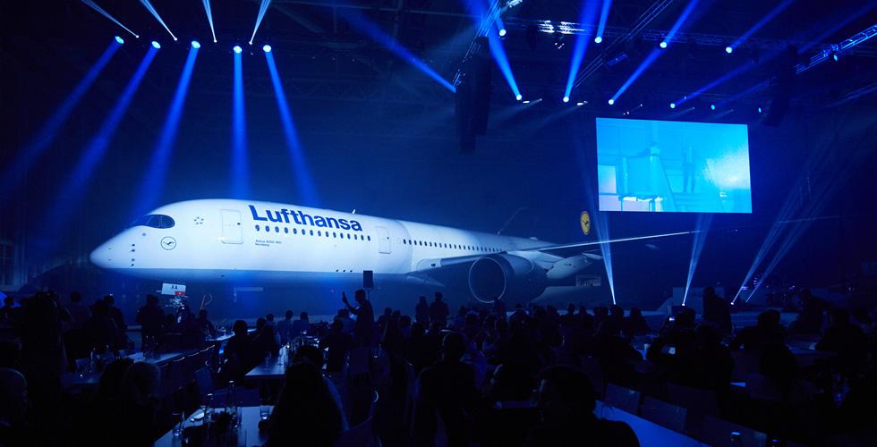 طائرة خلابة في اسطول لوفتهانزا