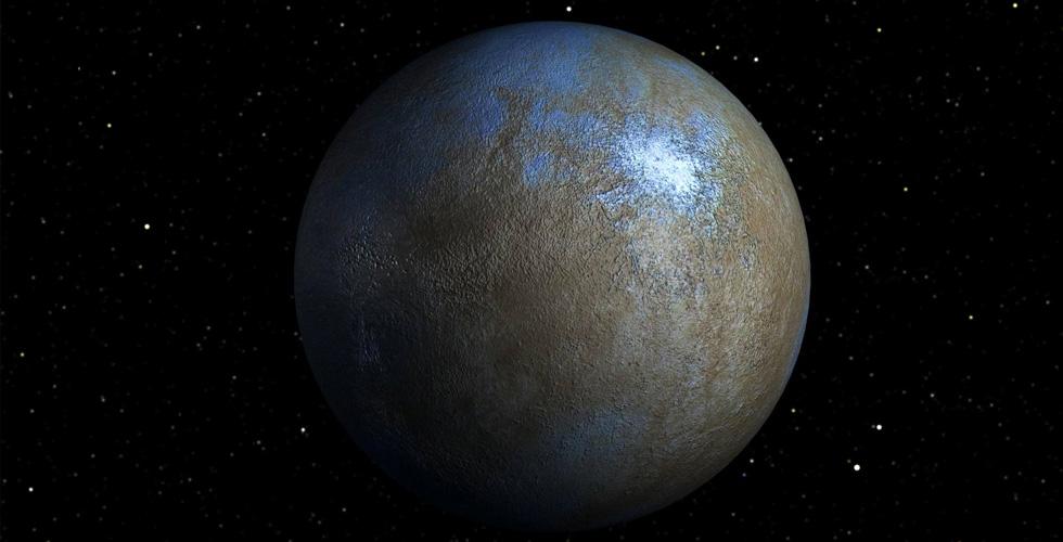 اكتشافٌ سبّاق في الكوكب سيريس