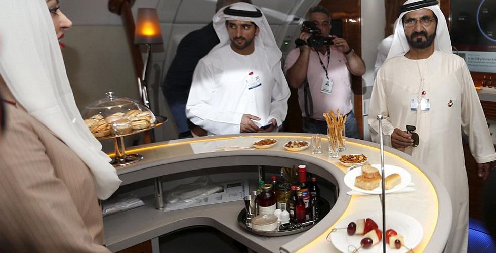 ما جديد مقصورات A380؟