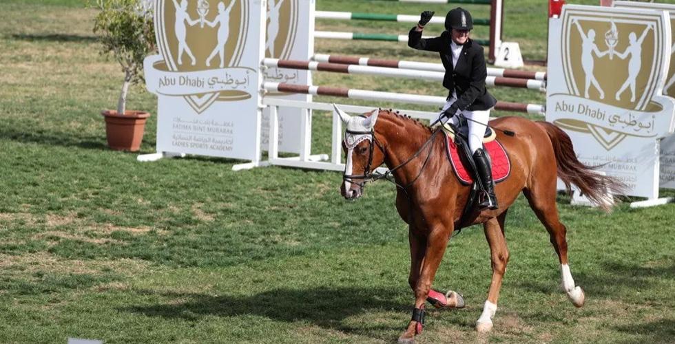 الاماراتيون في كأس أكاديمية فاطمة بن مبارك