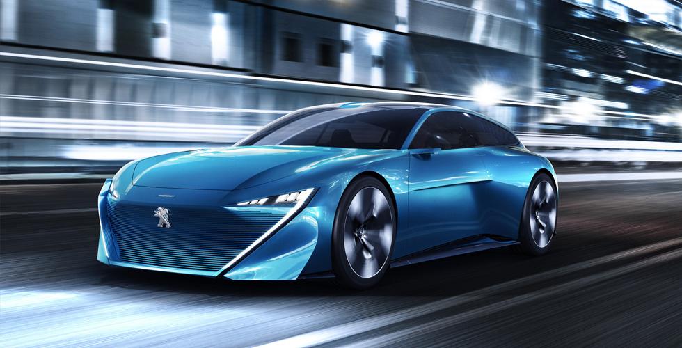 سيّارة Peugeot  المستقبليّة والمستقلّة
