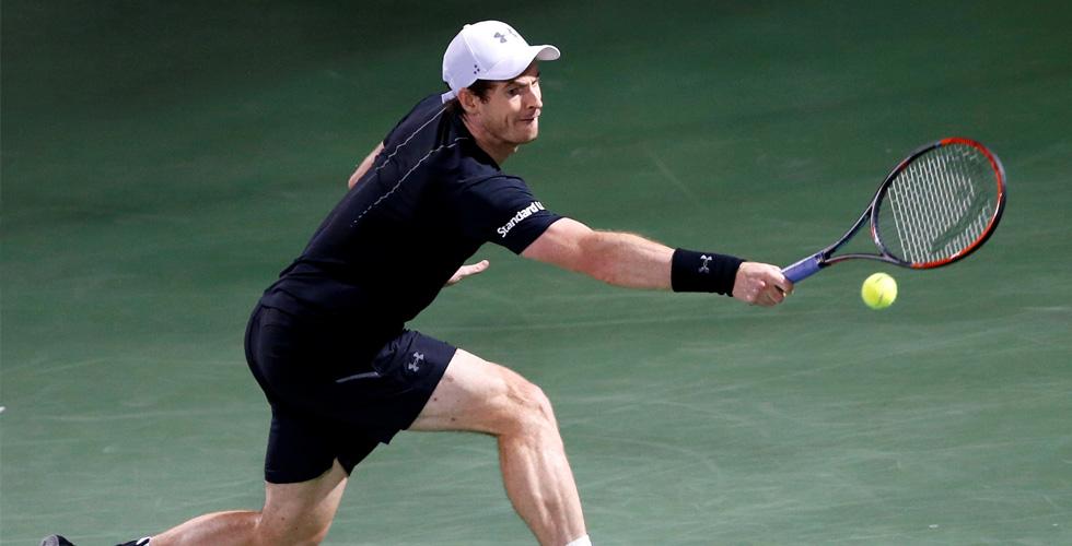 موراي يتقدّم في بطولة دبي