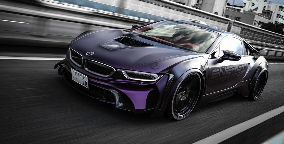 BMW i8  بنسخة Batman