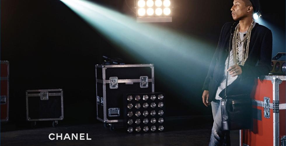 ويليامز يتصدّر حملةً لحقيبة Chanel