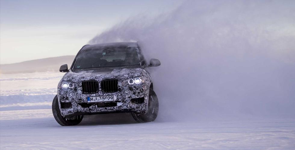 اختبارٌ شتويّ لل BMW X3  الجديدة