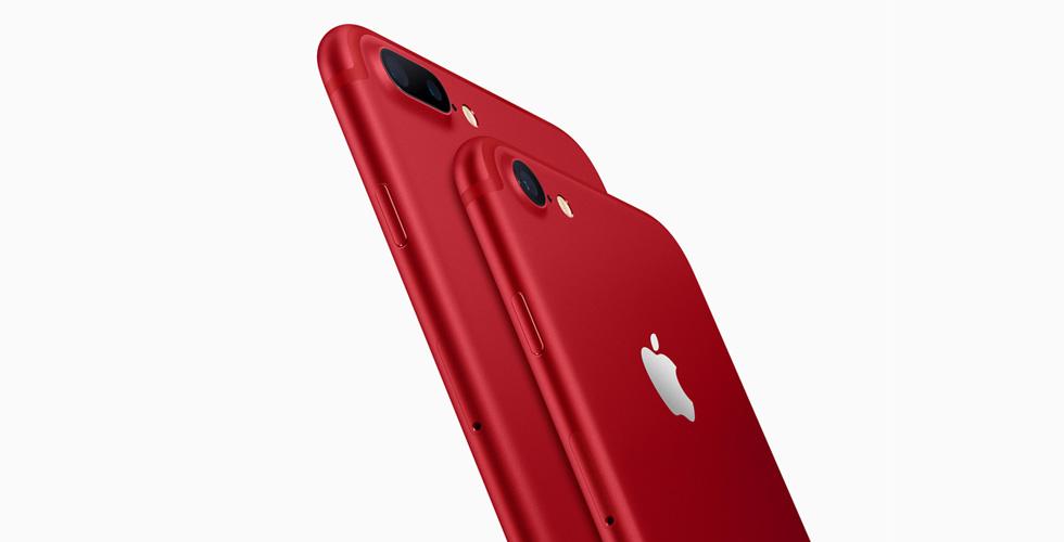 iPhone 7  الأحمر لمحاربة الأيدز