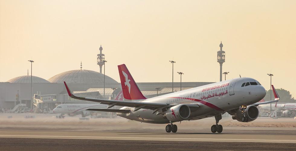 العربية للطيران نحو طرابزون