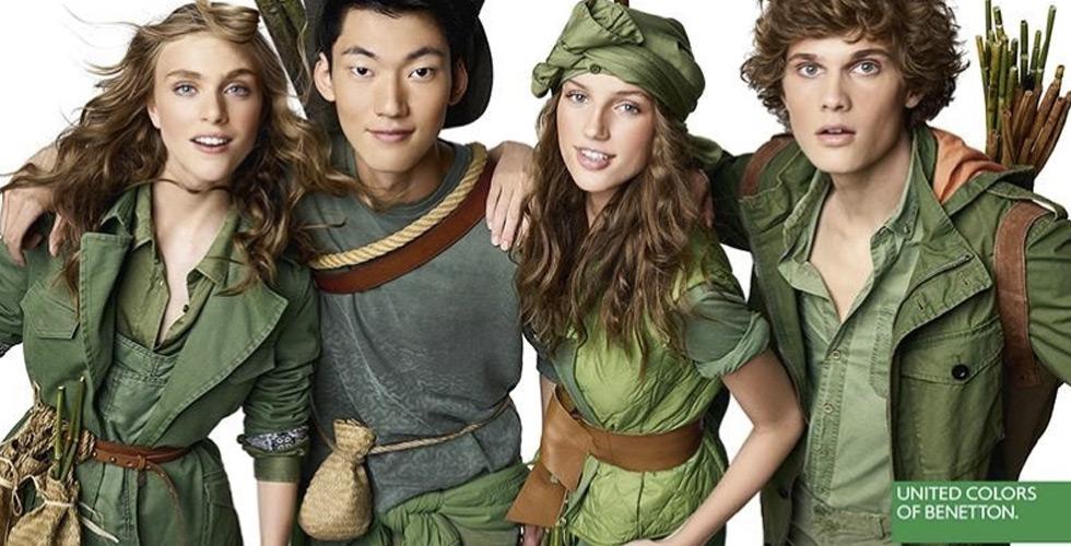 طاقة شبابية في حملة Benetton
