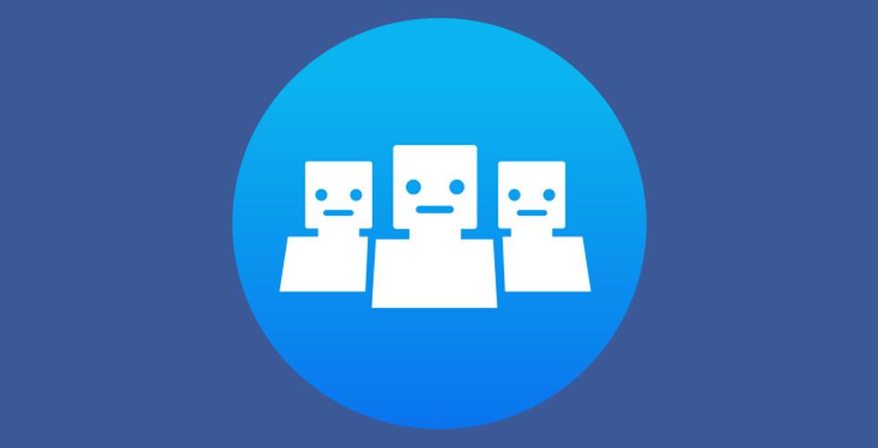 Facebook  تطلق Chatbots  الجماعية
