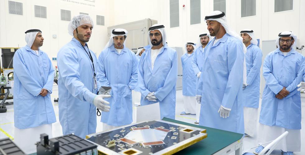 الإمارات ترسل أول إماراتي إلى الفضاء