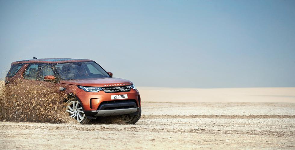 Jaguar Land Rover  في معرض قطر