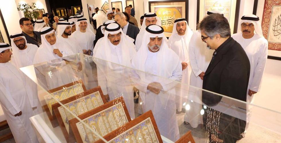 الخط العربي يتألق في دبي