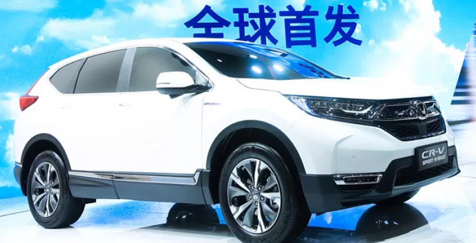 Honda CR-V   هايبرد في شانغهاي