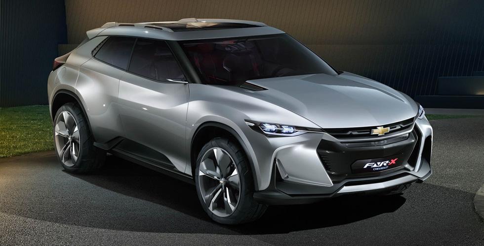 Chevrolet FNR-X  قد تنافس التويوتا C-HR