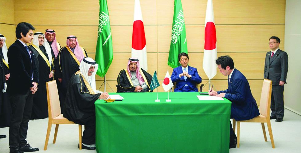 رأي السبّاق:شراكة سعودية-يابانية
