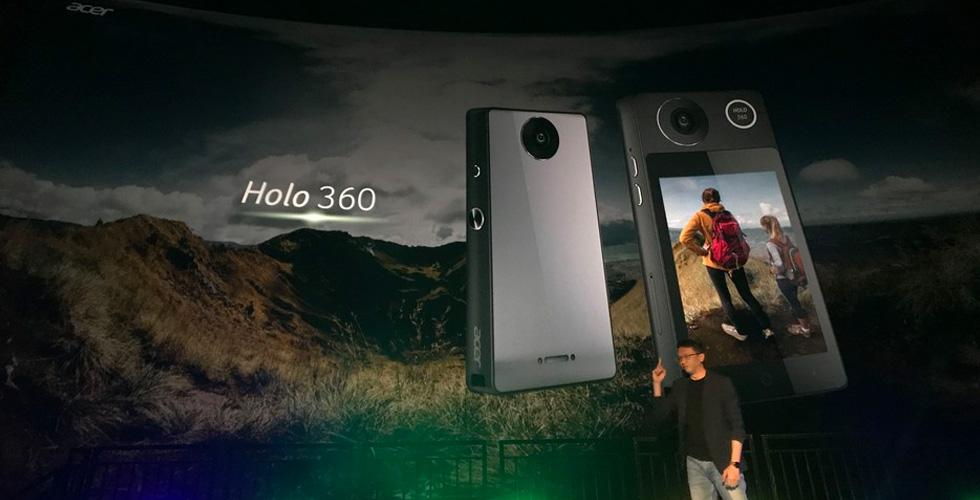 Acer  تقدّم أوّل كاميرا من نوعها في العالم