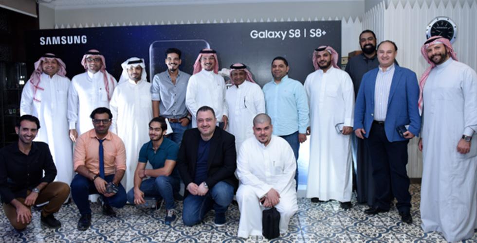 جالاكسي S8  وS8+ لأول مرة في المملكة