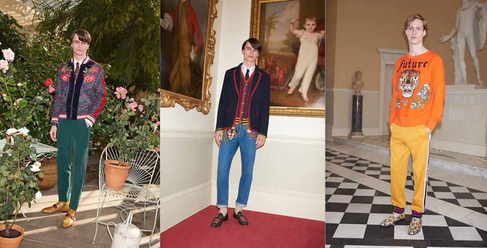 مجموعة Gucci الحصرية ل-Mr Porter
