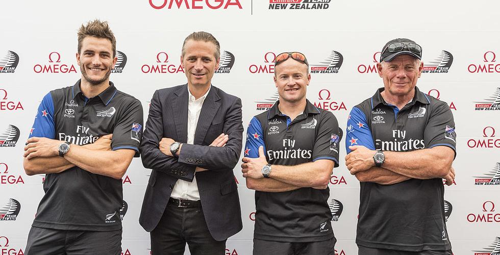 OMEGA تدعم فريق الامارات نيوزيلندا