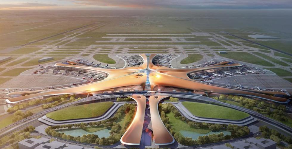قريبًا افتتاح أكبر مطار في العالم في بكين!