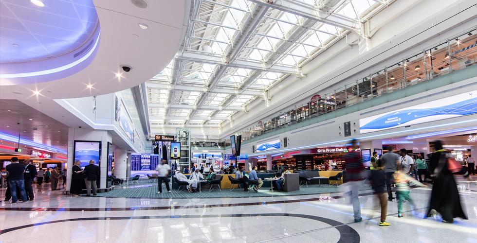 أسرع خدمة واي فاي في العالم في مطار دبي