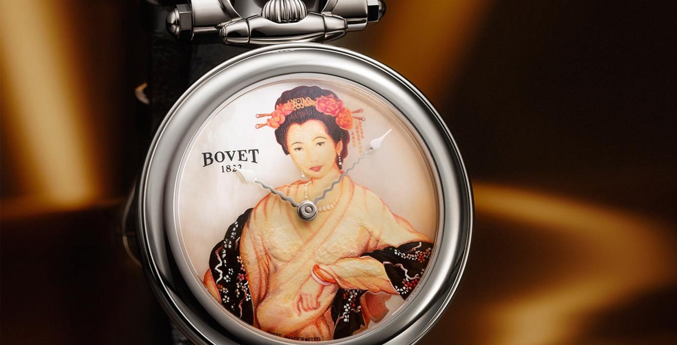 Bovet تكشف أسرار الجمال