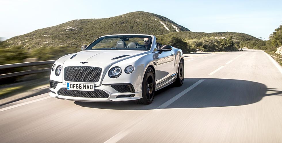 Bentley تذهل العالم بخط سيارات جديد