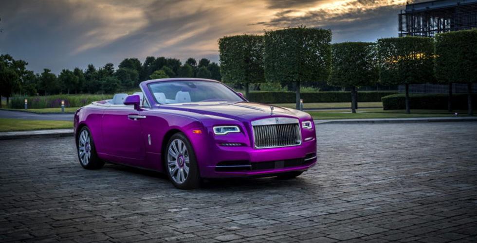 فخامة زاهية من Rolls-Royce