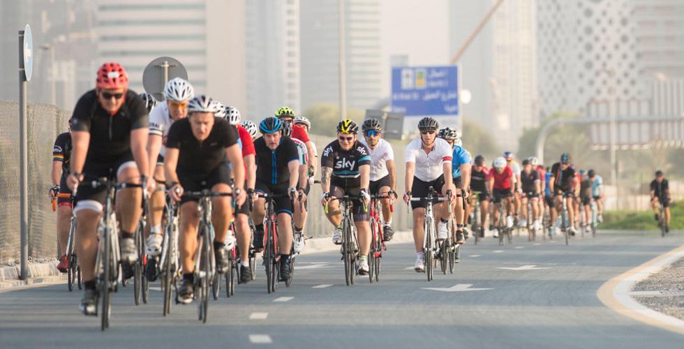 بدء موسم ركوب الدراجات في دبي