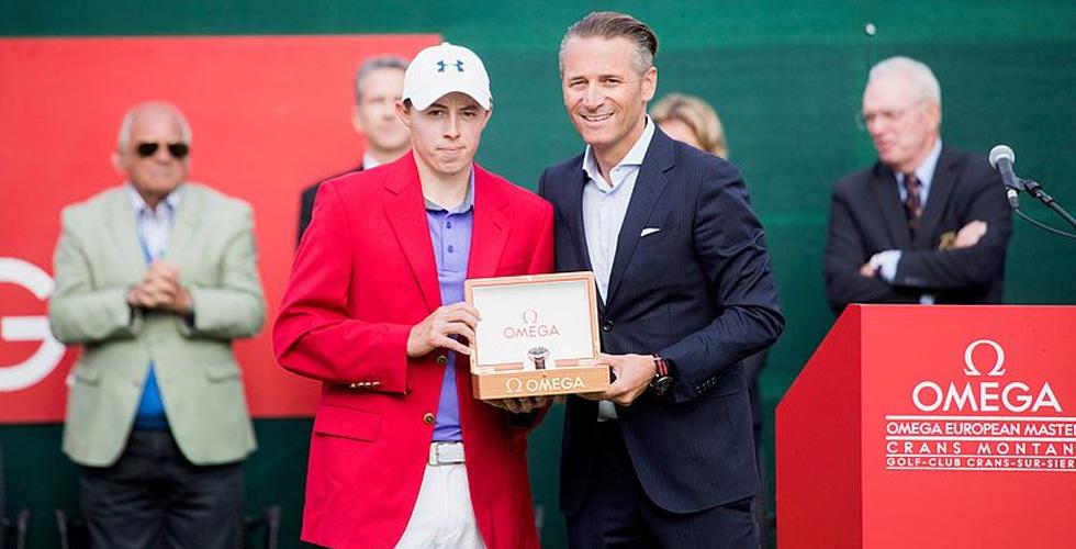 فوز فيتزباتريك في بطولة OMEGA European Masters
