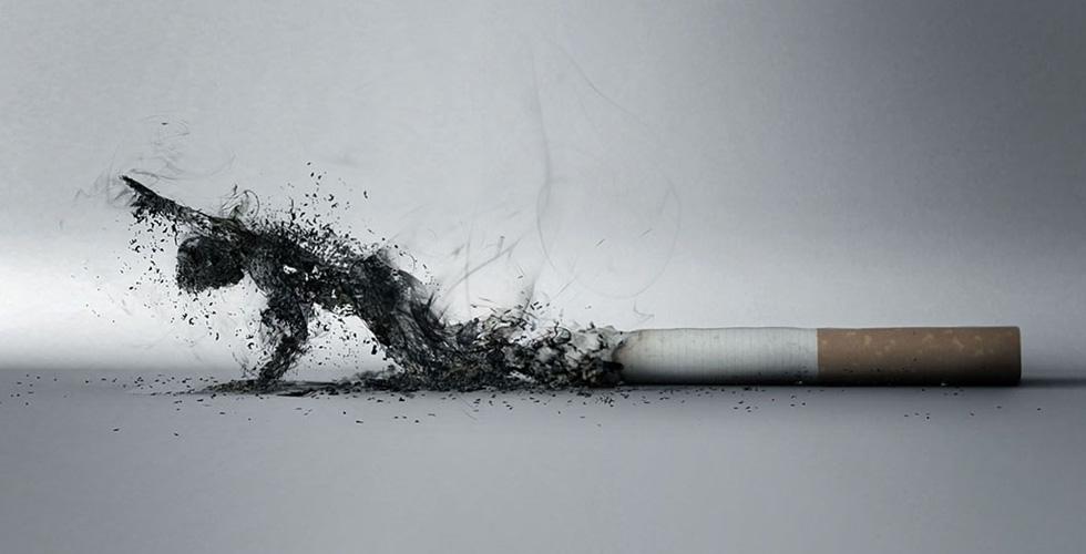 لا تدخّن والا فالموت في المرصاد