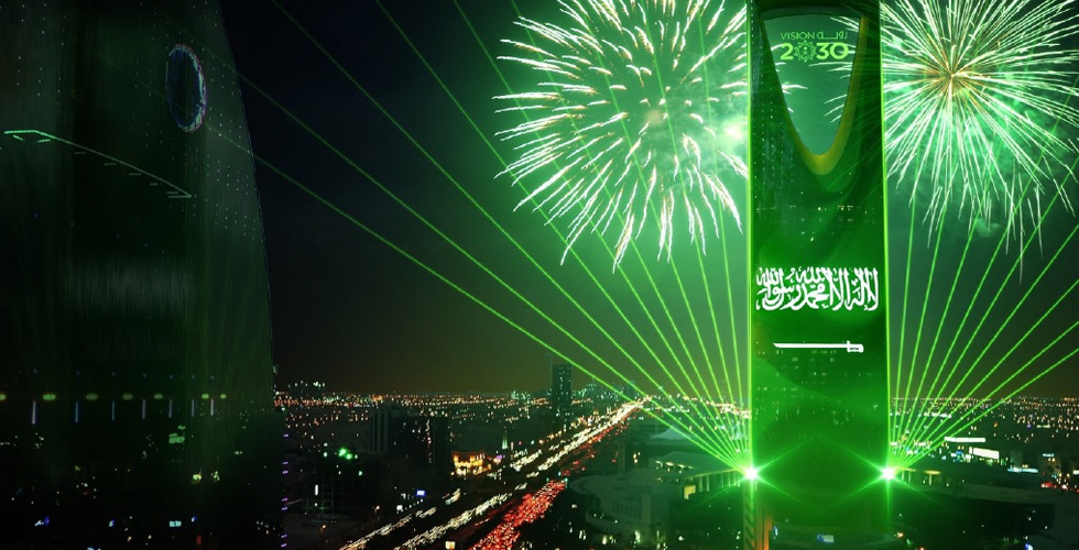 اليوم الوطني السعودي في الفور سيزونز الرياض