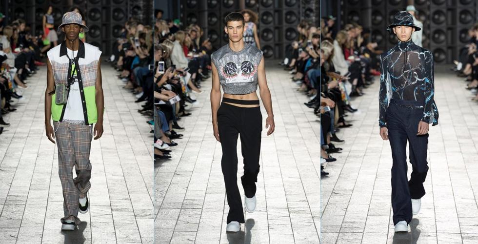 Versus Versace تعيد تفسير أسلوب نيويورك التسعيني