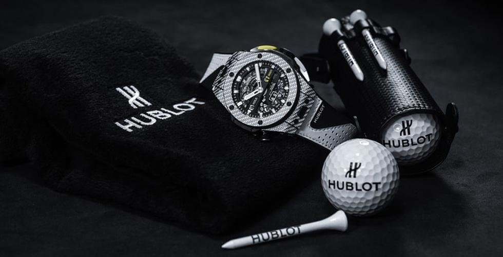 دقّة Hublot تكملها دقة الغولف